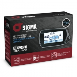 Car security system <br> SIGMA PRO 8.1 CAN